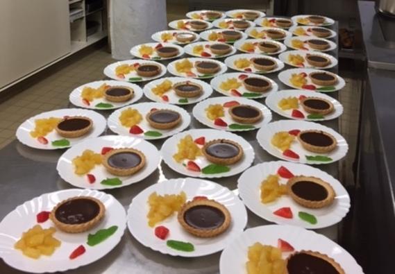 Une avalanche de desserts