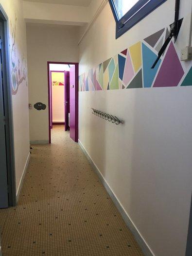 Le couloir du dortoir Gypaète