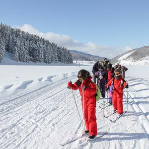 Classe ski de fond raquettes