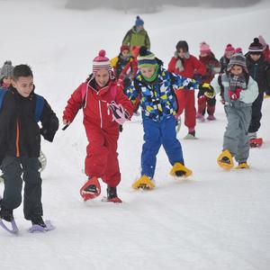 Classe ski alpin et raquettes