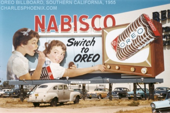 22 - An Oreo Billboard LA 1955
