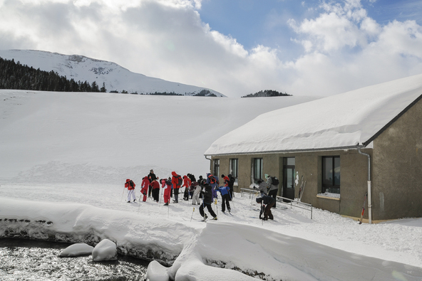 Classe de découverte ski de fond