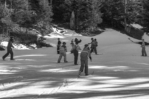Ski de fond à Payolle
