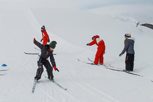 Classe ski de fond